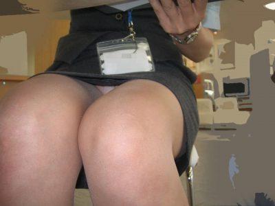 OLパンチラ OLのタイトスカートを盗撮したエロ画像112枚!