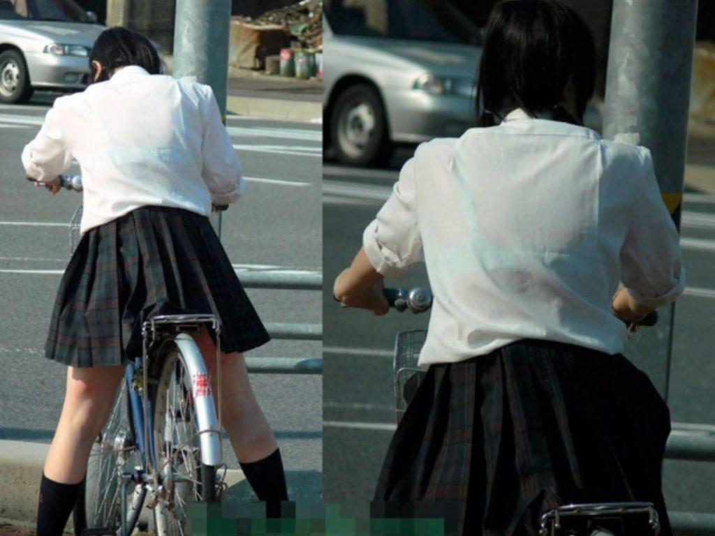 素人JK透けブラ 画像 049