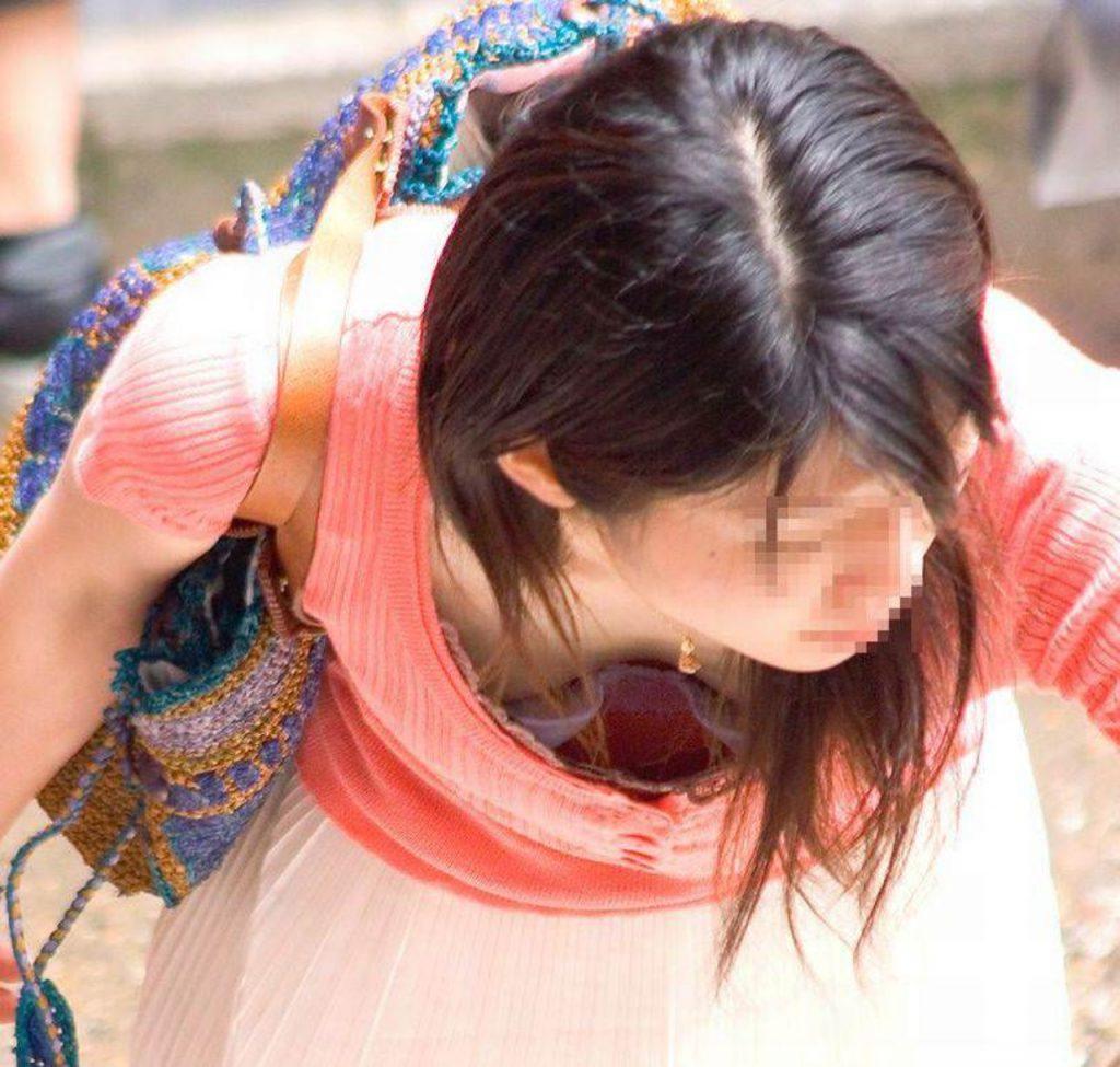 素人乳首チラ 画像 035