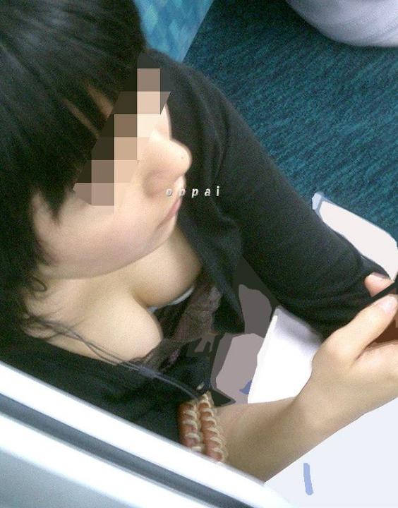 素人乳首チラ 画像 041