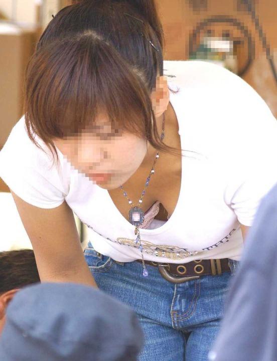 素人乳首チラ 画像 045