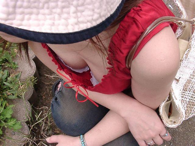 素人乳首チラ 画像 119