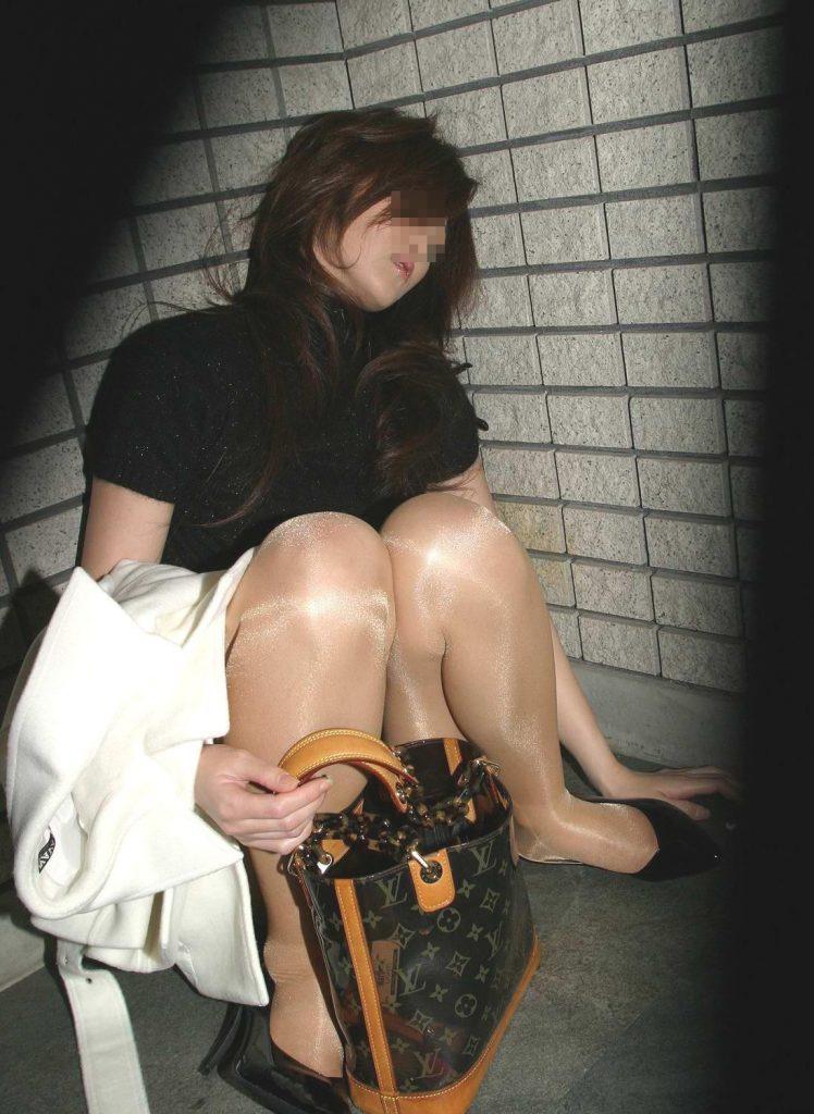 泥酔お姉さん 画像 006