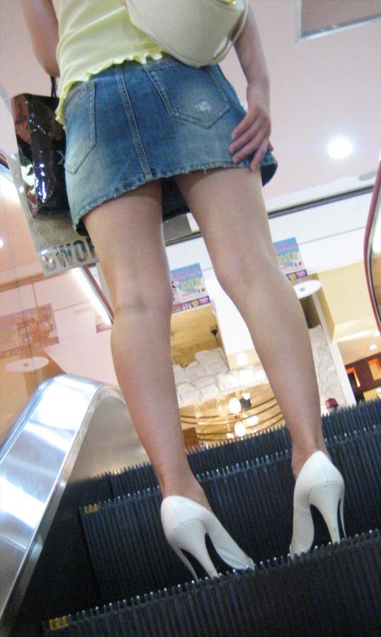 美脚ミニスカート 画像 091