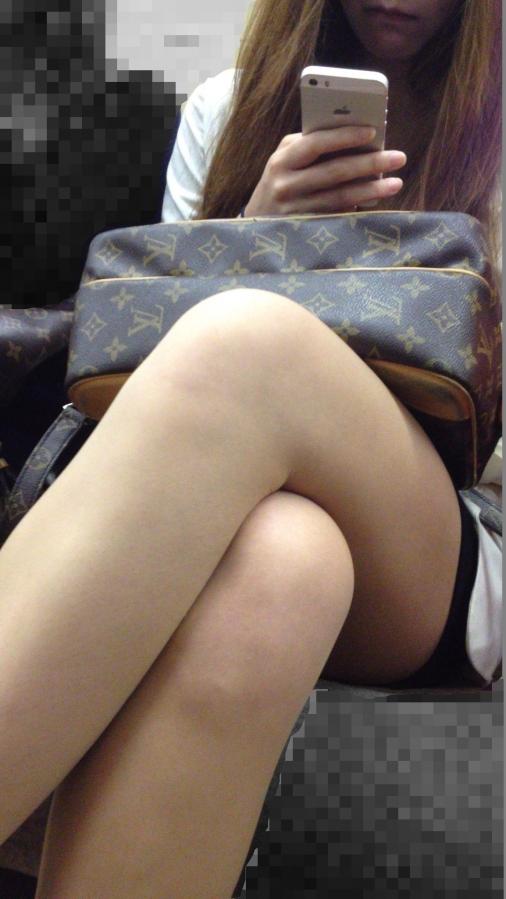 美脚ミニスカート 画像 103
