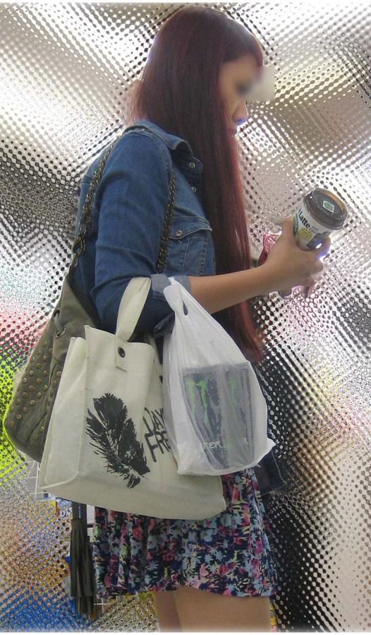 美脚ミニスカート 画像 003