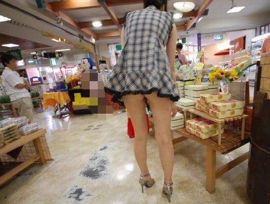 美脚ミニスカート 画像 077