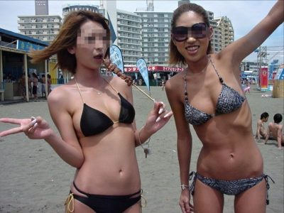えっちな素人水着 夏しか見れない水着ギャルエロ画像80枚!