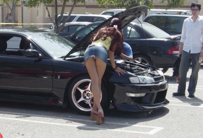 車内の淫乱素人 画像 002