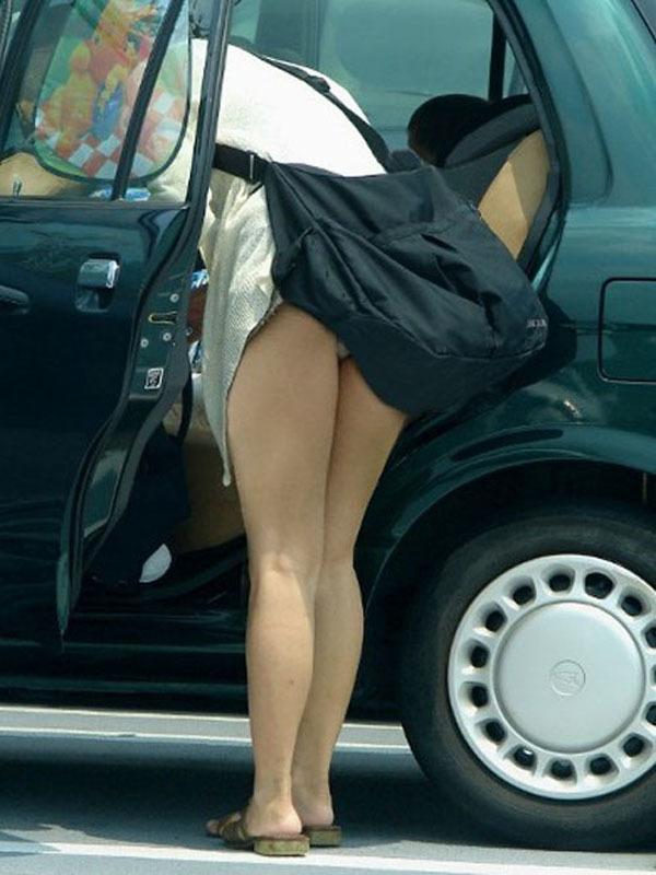車内の淫乱素人 画像 019