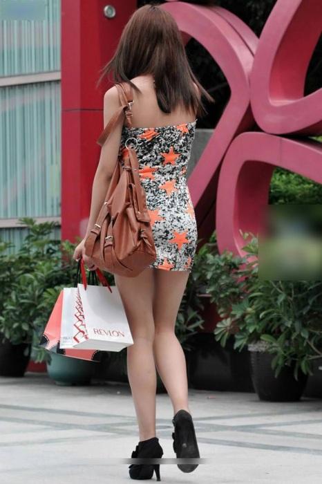 街撮りミニスカート 画像 099