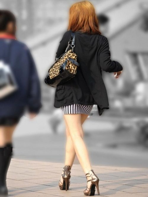 街撮りミニスカート 画像 003
