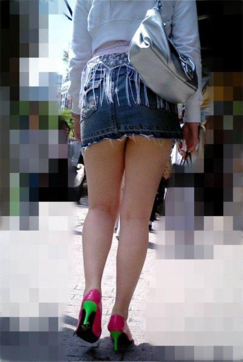 街撮りミニスカート 画像 004