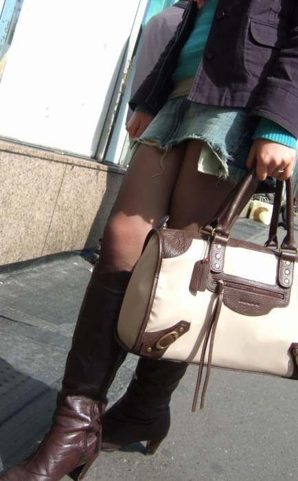 街撮りミニスカート 画像 021
