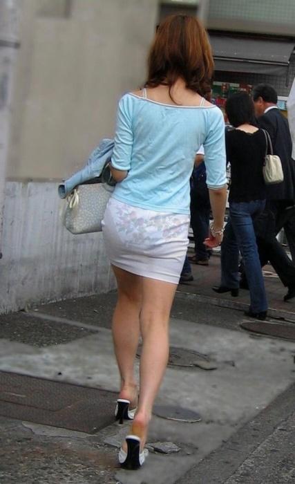 街撮りミニスカート 画像 025