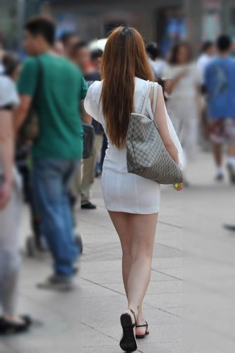 街撮りミニスカート 画像 034