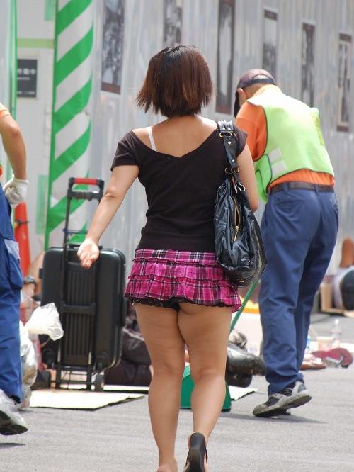 街撮りミニスカート 画像 041