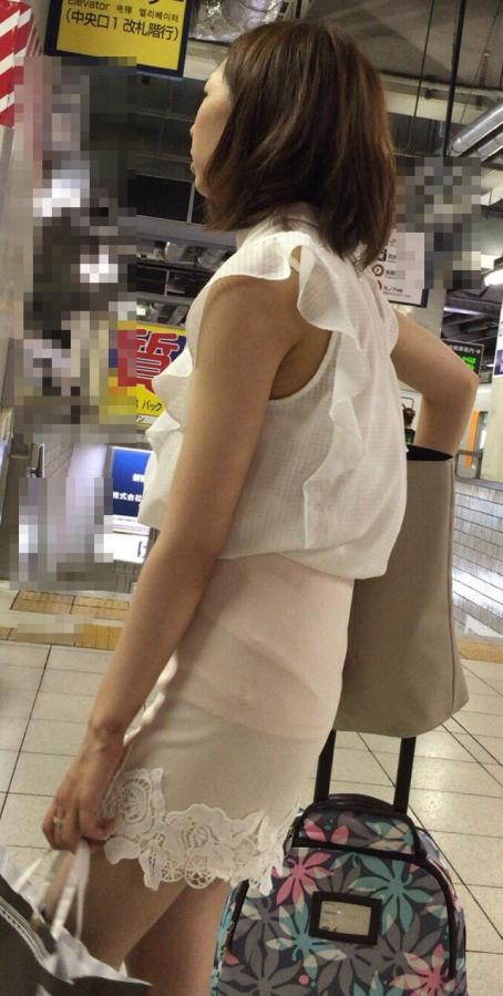 街撮りミニスカート 画像 059