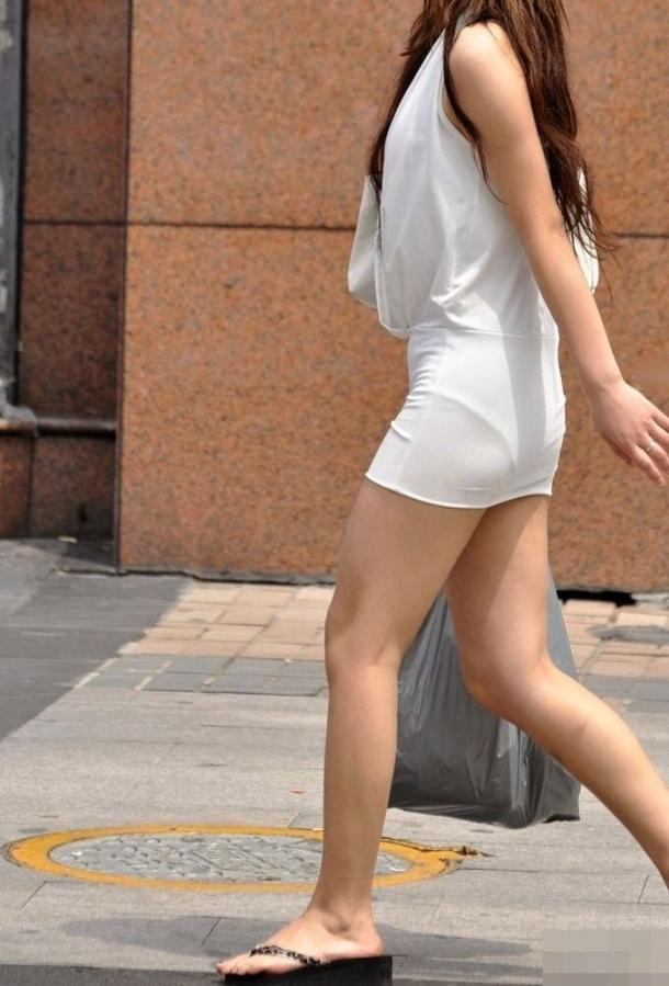 街撮りミニスカート 画像 060