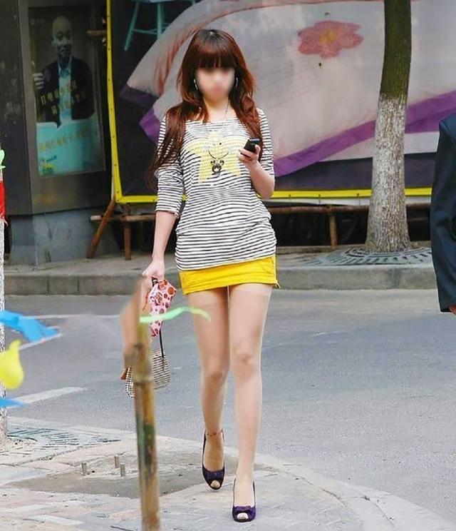 街撮りミニスカート 画像 065