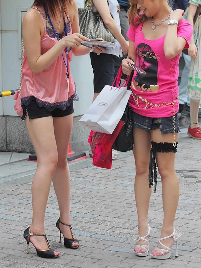 街撮りミニスカート 画像 067