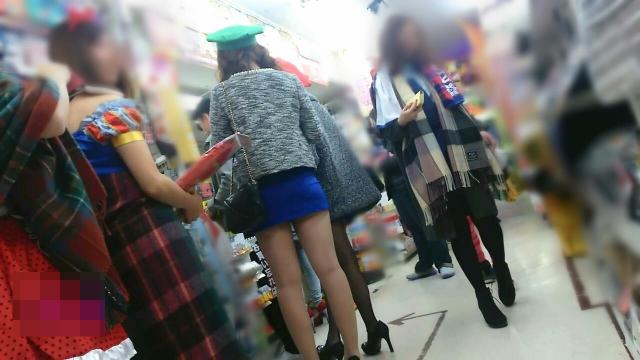 街撮りミニスカート 画像 069