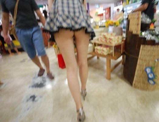 街撮りミニスカート 画像 079