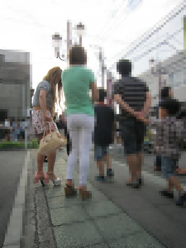 街撮りミニスカート 画像 091