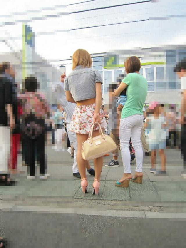 街撮りミニスカート 画像 094