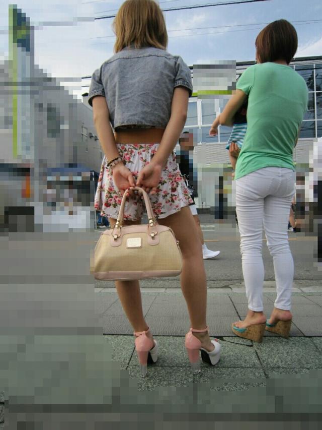 街撮りミニスカート 画像 095
