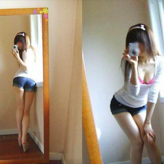 淫乱女の自撮り 画像 051