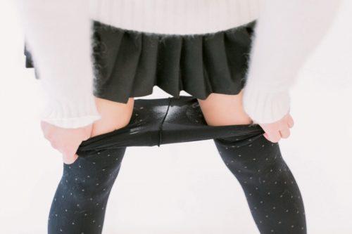 黒タイツ 黒ストッキングフェチエロ画像119