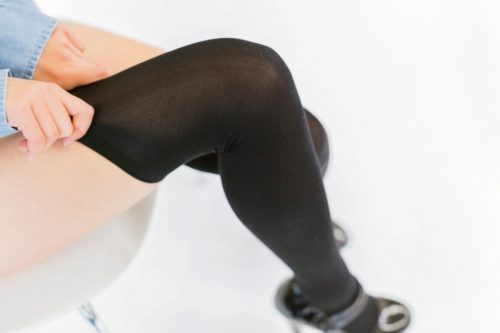 黒タイツ 黒ストッキングフェチエロ画像159
