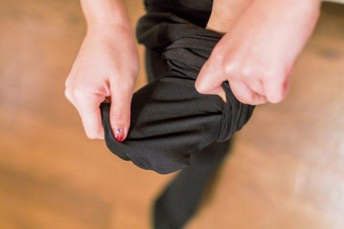黒タイツ 黒ストッキングフェチエロ画像175